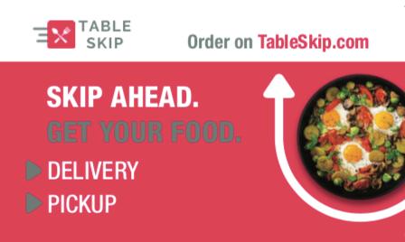 TableSkip sticker window